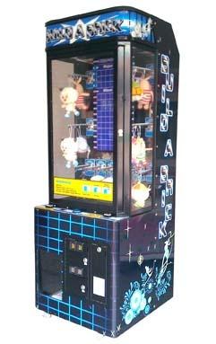 Детские торговые автоматы в гипермаркете