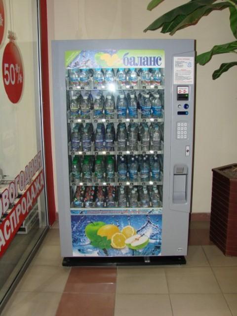 Автоматы газированной воды для