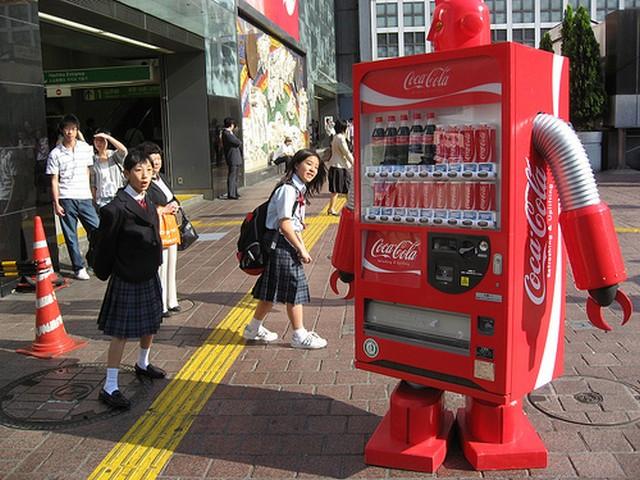 Автоматы MIX - новое поколение автоматов по продаже газированных напитков