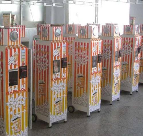 Автоматы для продажи попкорна